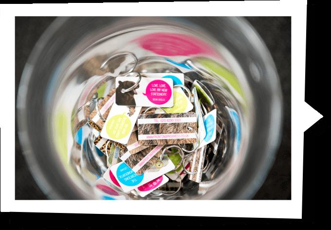 branded-keyrings-in-a-jar