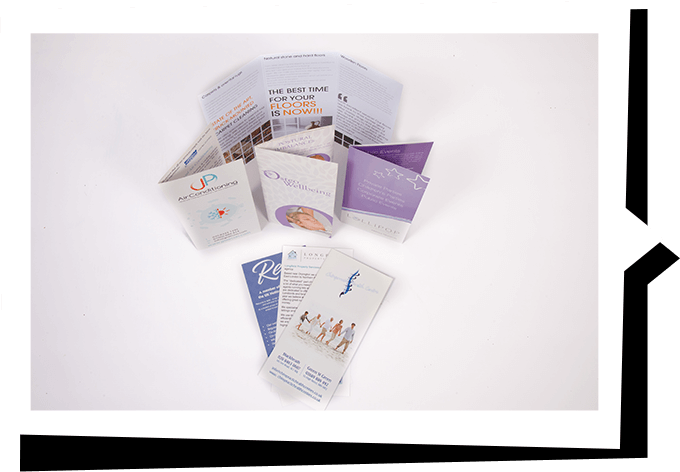 Folded-flyers-printing-in-bromley