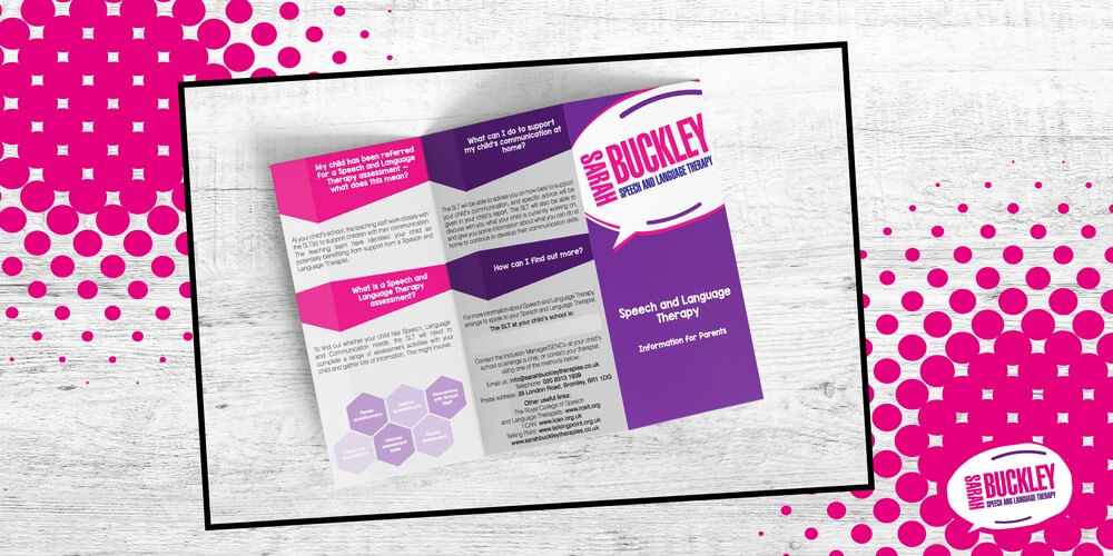 Sarah Buckley Leaflet