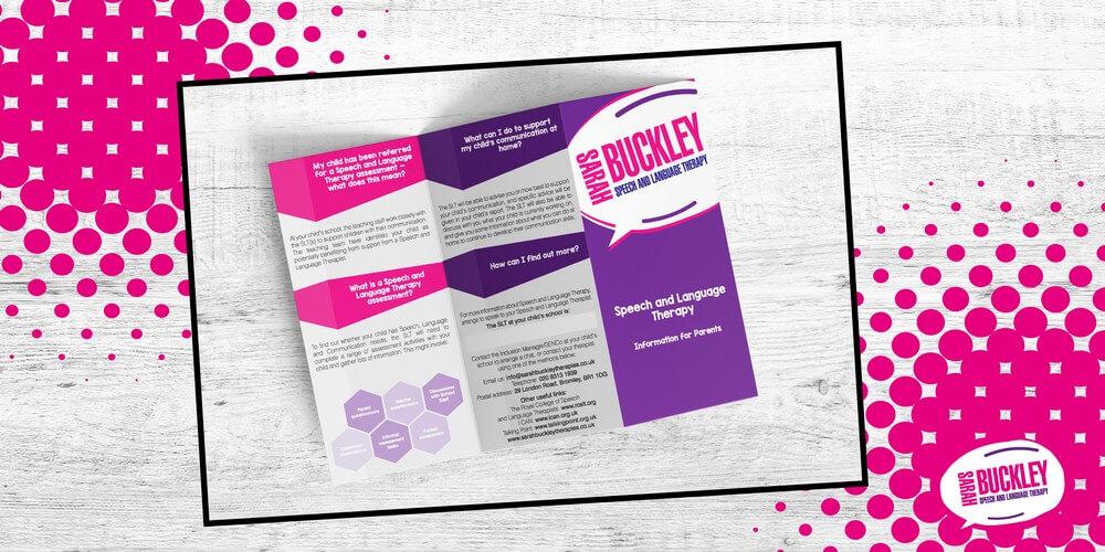 Sarah Buckley Leaflet