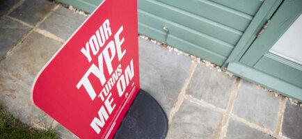 Pavement Sign Teddington